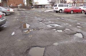 Fix Parking Lot Cracks and Potholes Fast