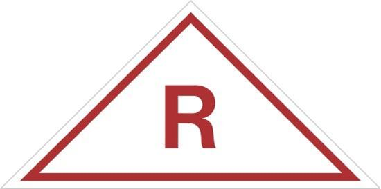 Picture of Roof Truss Sign R