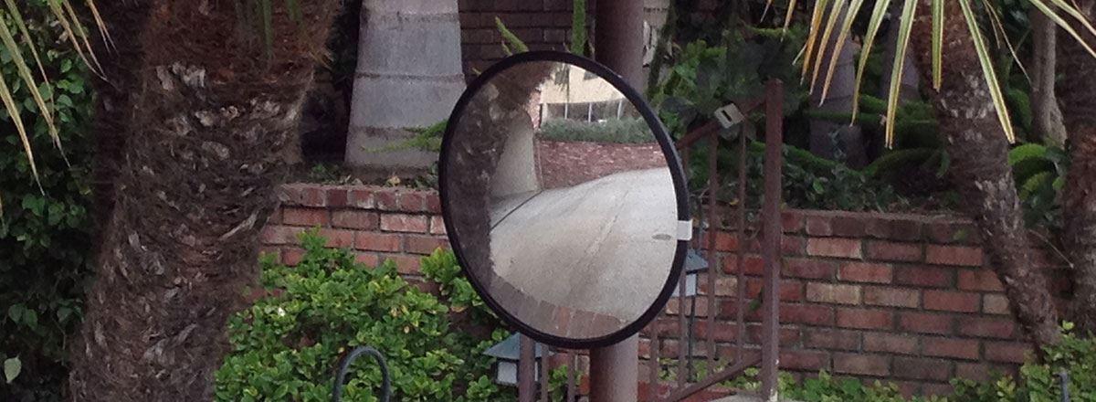 "Picture of Convex Mirror 18"""