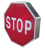 Picture of Solar LED Stop Sign