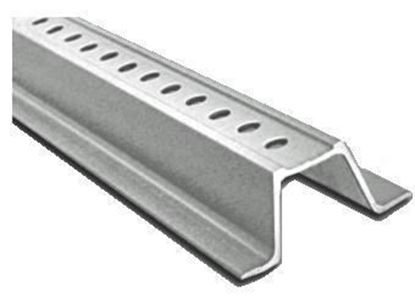 Picture of 12 Ft. Galvanized Channel Post Silver