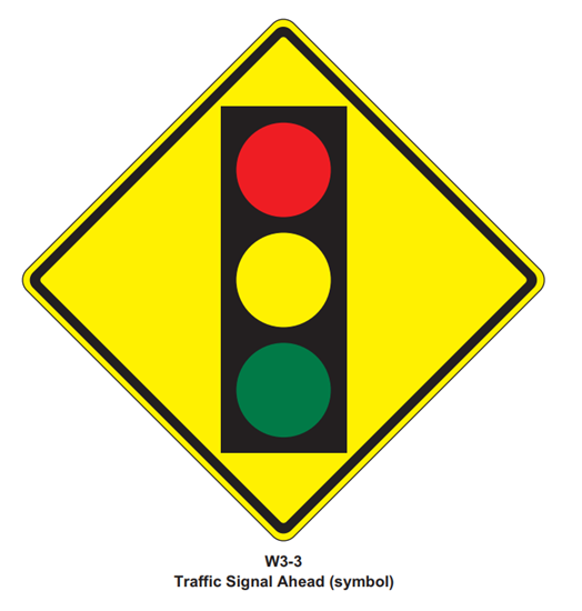 """Picture of 30""""x30"""" Traffic Light Signal"""