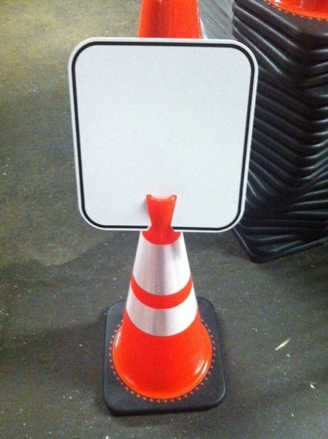 Picture of Custom Cone Signs