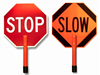 """Picture of 24"""" Stop/Slow Paddles"""