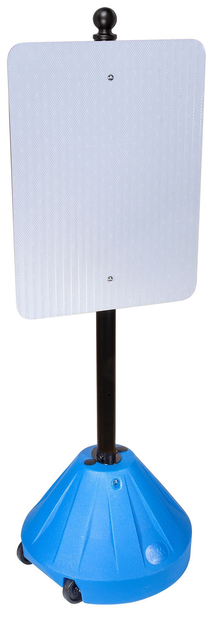 """Picture of Portable Pole 2 Sign Base and 48"""" Pole"""