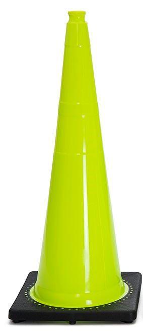 "Picture of 36"" Cone Lime Non-Reflective"