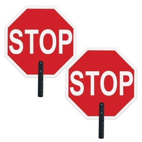 """Picture of 18"""" Stop/Stop Paddles (New Lower Price!)"""